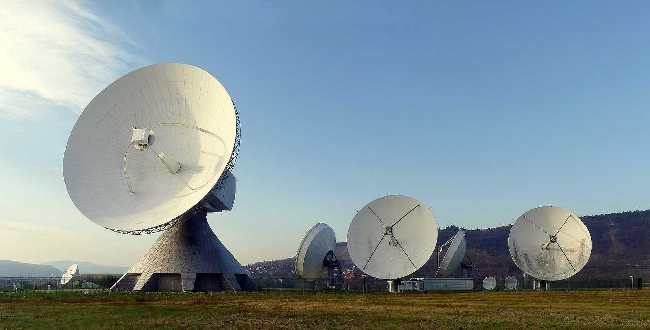 radar dish, radar, earth station
